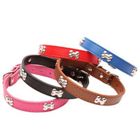 Bling strass en cuir en cristal OS chiot collier chien collier chat anima`FR