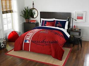 St. Louis Cardinals Applique Full Bedding Comorter Set ~ 7 Piece ~ Retail $150