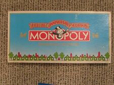 Monopoly Deluxe Anniversary Edition 1991-Parker Brothers-with Anniv. Token