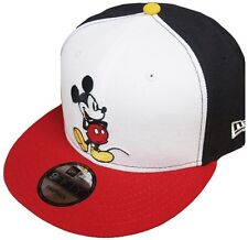 NEW Era MICKEY MOUSE BLACK WHITE RED SNAPBACK CAP 9 Fifty Disney Limited Edition