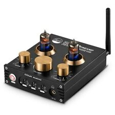 HiFi Bluetooth 5.0 Valve Tube Bass Stereo Audio Headphone Amplifier USB DAC APTX
