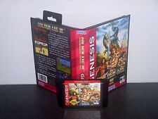 Golden Axe III ( 3 ) Beat'em Up Video Game for Sega Genesis! Cart & Box!