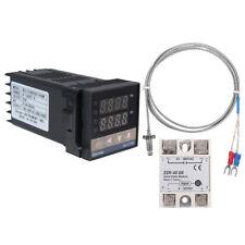 0~1300℃ 2way PV/SV Alarm Digital LED PID Temperature Controller Kits AC110V-240V