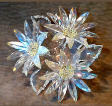 SWAROVSKI MAXI FLOWER ARRANGEMENT RETIRED 2008 MIB! crystal daisies