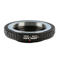 M39-M4/3 Adapter Ring for Leica M39 Mount Lens to Micro 4/3 M4/3 M43 Cameras
