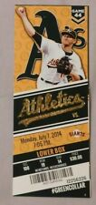 2014 Oakland A's Vs Toronto Blue Jays 7/7/14 unused MLB Ticket