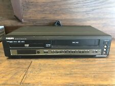30142 ~ Philips DVD740VR DVD Player VCR VHS Recorder Combo