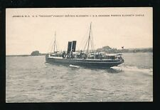 Channel Islands JERSEY SS Reindeer c1910/20s? PPC