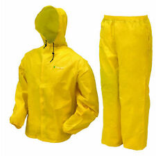 Rain Suit Frogg Toggs Ultra Lite Waterproof Jacket Pants Gear Wear  XL