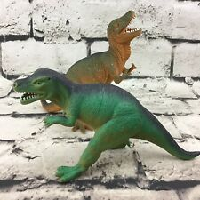 6� Dinosaur Lot Of 2 Tyrannosaurus Rex Allosaurus Detailed Jurassic Figures Toys