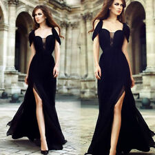Formal Long Chiffon Dress Women Bridesmaid Evening Prom Gown Party Cocktail Fa15