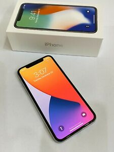Apple iPhone X - 256 GB - Silver - Verizon Unlocked - Smartphone