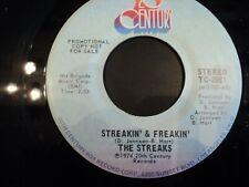 The STREAKS - Streakin and Freakin - RARE US PROMO - pressing