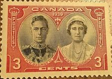 1939 CANADA STAMP 3 CENTS GEORGE VI
