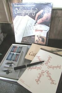 NoNonsense Pen by Sheaffer Calligraphy Fountain Pen w 3 Nibs; Step by Step Guide