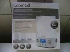 Medisana ecomed Lichtwecker WL-50E, Neu und OVP