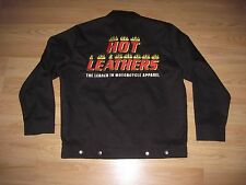 Hot Leathers Leader In Motorcycle Apparel Embroidered Jacket/Free Shipping!