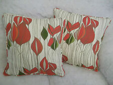 """KRISTA BY VOYAGE 1 PAIR OF 18"""" CUSHION COVERS - DOUBLE SIDED & PIPED"""