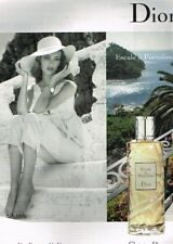 F- Publicité Advertising 2008 Parfum Escale à Portofino Christian Dior