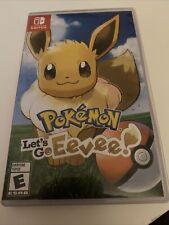 Nintendo Switch Game Pokemon Let's Go Eevee