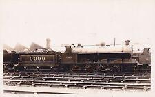 Railway Postcard LMS 9090 Engine by T.I.C.