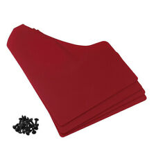 Red Universal Most Car Mud Flaps Mud Flaps Splash Guard Fender Mudguard Plastic