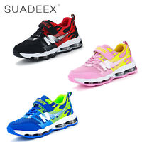 Jungen Mädchen Sneaker Sportschuhe kinder freizeit Turnschuhe atmungsaktiv Licht