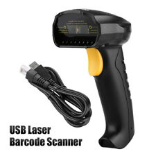 Portable USB Laser Barcode Scanner Bar Code Reader Long Scan Handheld POS PC