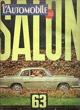 L'AUTOMOBILE 210 1963 SPECIAL SALON DE L'AUTOMOBILE BREEDLOVE SPIRIT OF AMERICA
