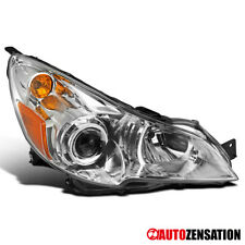 For 2010-2014 Subaru Legacy Outbraek Passenger Side Clear Projector Headlight