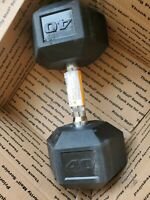 CAP 40 LB Dumbbell Rubber Coated Hex Dumbbells Weight ONE SINGLE New