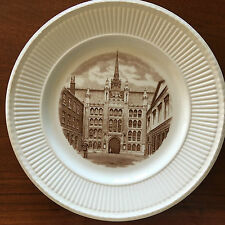 Wedgwood Old London Views Plate, Guildhall, 1st Eds. 1941.
