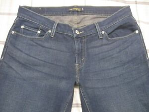 Levis Jeans 524 13L X 34 Skinny Too SuperLow Low Rise Stretch 31 32 Long a3 HOT!