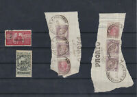 Italy Revenue Stamps On Piece Ref: R5725