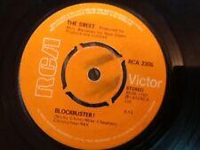 THE SWEET . BLOCKBUSTER . 1973 . U.K. NUMBER 1 HIT . GLAM ROCK
