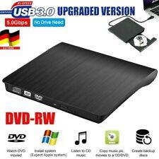 Externes DVD Combo CD & DVD Laufwerk CD Brenner USB 3.0 Extern Notebook PC DE