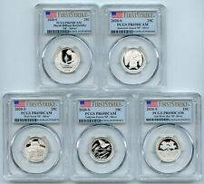2020 S Silver National Parks Quarter Set PCGS PR69DCAM First Strike