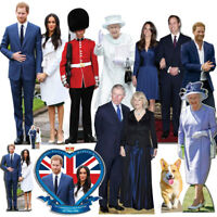 Prince Harry and Meghan Markle Royal Wedding Cardboard Cutout Party Decorations