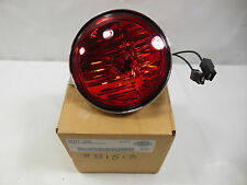 New OEM Harley Davidson Pursuit Lamp Light Halogen Red  PN 68727-64D #B1513