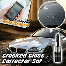 Glass Repair Fluid Tool Kit Car Cracked Window Nano Chip Apple Android Phone