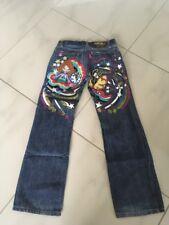Nolita Jeans Schlaghose 146/152 Neu 3D Stickerei Bootcut New Sterne 32/34 XS