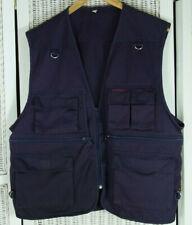 PLANAM Men's Purple Fishing Hunting Photography Waistcoat M 54″ 8-Pocket Vest