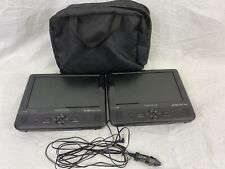 """Insignia 9"""" Dual Screen Portable Dvd Players Ns-Ds9Pdvd15 - No Box-"""