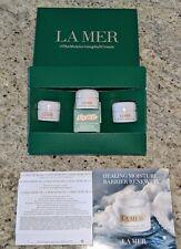 New $69 La Mer Deluxe Travel Sample Moisturizing Cream Soft/Gel/Rich moisturizer
