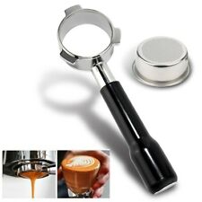 54mm Coffee Bottomless Portafilter For Breville 870/878/880 W/ Filter Basket NEW