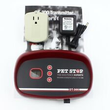 New listing PetStop Ot-300 In-Ground Dog Fence Transmitter Pet Stop Containment Boundary 300