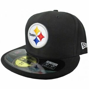 PITTSBURGH STEELERS NFL NEW ERA 59FIFTY OFFICIAL ON FIELD SIDELINE FITTED HAT  7