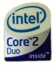 INTEL CORE 2 DUO  STICKER LOGO AUFKLEBER 16x20mm (129)