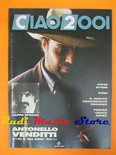 rivista CIAO 2001*26/1990 POSTER Grace Jones Antonello Venditti Frank Zappa Nocd