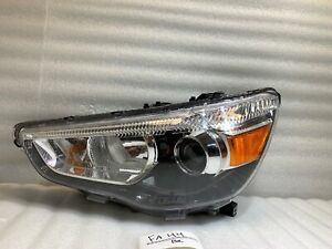 2011 - 2018 Mitsubishi Outlander Sport Headlight OEM Left Driver Halogen LH Lamp